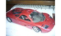 модель 1/18 McLaren F1 Prototype красный Guiloy металл 1:18, масштабная модель, scale18