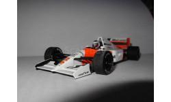 модель 1/43 F1 Formula/Формула-1 McLaren 4/7 Honda V12 1992 #2 Gerhard Berger металл 1:43, масштабная модель