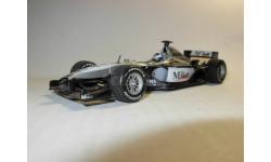 модель 1/43 F1 Formula/Формула-1 McLaren Mercedes 4/16 2001 #3 Mika Hakkinen Minichamps /PMA металл 1:43 Mercedes-Benz Мерседес, масштабная модель, scale43