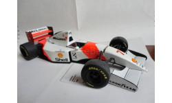 модель F1 Формула-1 1/18 McLaren MP4/8 1993 #7 M. Hakkinen Minichamps/PMA металл