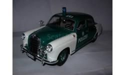 модель 1/18 MB Mercedes Benz 180 W120 Polizei 'Ponton' полицейский Revell Мерседес металл, масштабная модель, Mercedes-Benz, scale18