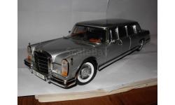 модель 1/18 Mercedes-Benz 600 W100 Sun Star металл