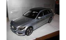 модель 1/18 MB Mercedes Benz C-Class Avantgarde W205 T-Model 2014 универсал Norev металл 1:18 Mercedes-Benz Мерседес, масштабная модель, scale18