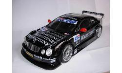 модель 1/18 MB Mercedes Benz CLK AMG (C209) DTM 2000 #5 Ludwig Maisto металл 1:18