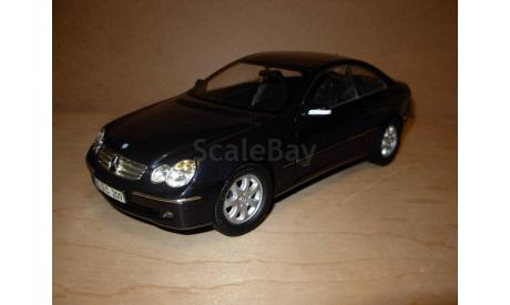 модель 1/18 MB Mercedes Benz CLK C209 Elegance Coupe Kyosho металл 1:18 Mercedes-Benz Мерседес, масштабная модель