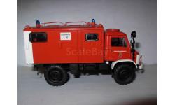 модель 1/43 MB Mercedes Benz Unimog 404S пожарный Schuco  металл, масштабная модель, 1:43, Mercedes-Benz