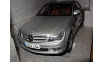 модель 1/18 MB Mercedes Benz Мерседес C-Class Avantgarde W204 седан Autoart Dealer Edition металл 1:18 Mercedes-Benz, масштабная модель, scale18