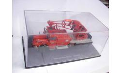 модель 1/43 пожарный кран Mercedes Benz MB L6600 Schuco металл грузовик 1:43 Mercedes-Benz Мерседес