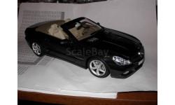 модель 1/18 MB Mercedes Benz SL W/R230 2008  кабриолет Minichamps металл