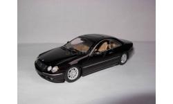 модель 1/43 MB Mercedes-Benz Coupe CL500 W215 Minichamps металл Мерседес