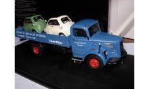 набор модели 1/43 грузовик MB Mercedes Benz L6600 + 2 BMW Isetta Schuco Limited  металл 1:43 Mercedes-Benz Мерседес, масштабная модель, scale43