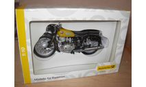 1/10 модель мотоцикл NSU Deutsche Post почтовый Schuco металл 1:10, масштабная модель мотоцикла, scale10