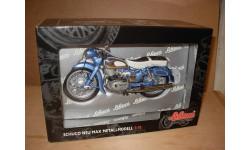 1/10 модель мотоцикл NSU Max Schuco металл 1:10, масштабная модель мотоцикла, DKW