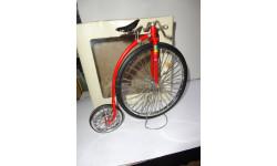 модель 1/10 велосипед старинный металл 1:10