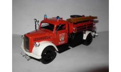 модель 1/43 Opel Blitz пожарный Schuco металл Опель Блиц 1:43
