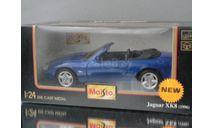 модель 1/24 JAGUAR XK8 1996 Maisto металл 1:24, масштабная модель, scale24