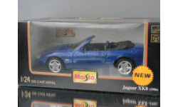 модель 1/24 JAGUAR XK8 1996 Maisto металл 1:24