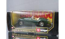 модель 1/24 JAGUAR XK 120 Roadster 1948 Burago Made in ITALY металл 1:24, масштабная модель, scale24