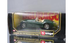модель 1/24 JAGUAR XK 120 Roadster 1948 Burago Made in ITALY металл