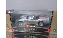 модель 1/24 Shelby series1 1999 Burago Made in ITALY металл 1:24, масштабная модель