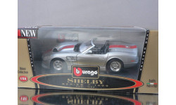 модель 1/24 Shelby series1 1999 Burago Made in ITALY металл