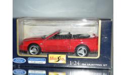 модель 1/24 FORD MUSTANG GT 1994 Maisto металл, масштабная модель, 1:24