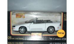 модель 1/24 Chevrolet CAMARO Z28 Maisto металл