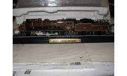 железнодорожный 1/100 паровоз/локомотив Pacific Chapelon Nord пластик 1:100