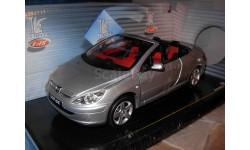 модель 1:18 Peugeot 307CC купе-кабриолет открытый Solido Prestige 1/18