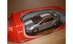 модель 1/18 Peugeot 407 Silhouette Coupe Mondo Motors металл 1:18