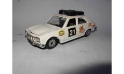 модель Peugeot 504 Rally 1/43 Norev металл без коробки 1:43