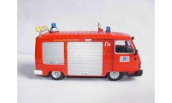 модель 1/50 пожарый Peugeot J9 1984 DelPrado металл