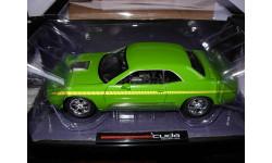 модель 1/18 Plymouth Cuda Concept Car 2011 Highway61 металл 1:18, масштабная модель, Highway 61