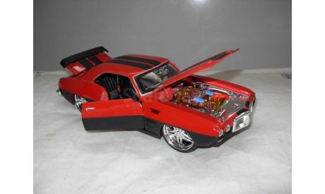 модель 1/24 Pontiac Firibird 1969 Low Rider Maisto металл 1:24, масштабная модель, scale24