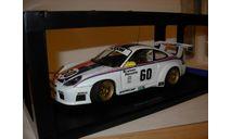 модель 1/18 гоночный Porrsce 911 GT3R Brumos #60 Autoart металл 1:18, масштабная модель, Porsche