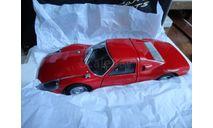 модель 1/18 Porsche 904 Carrera GTS 1964 без номеров Minichamps металл 1:18, масштабная модель, scale18