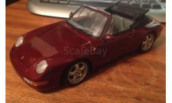 модель 1/18 Porsche 911 (993) Cabriolet UT MODELS металл 1:18