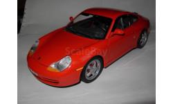 модель Porsche 911 Carrera 1997 Burago металл