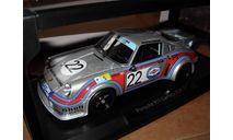 модель 1/18 гоночный Porsche 911 Carrera RSR 2.1 LeMans 1974 #22 van Lennep Müller Martini Norev limited металл Le Mans, масштабная модель, scale18