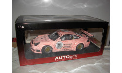 модель 1/18 гоночный Porsche 911 GT3 RSR  #21 Zolder 2006 Autoart Limited металл 1:18