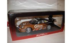 модель 1/18 гоночный Porsche 911 GT3R Winner Asian Carrera Cup 2003 №29 Autoart металл 1:18
