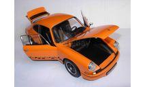 модель 1/18 Porsche Carrera RS 1973 Welly металл 1:18, масштабная модель, scale18