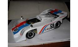 модель 1/18 гоночный Porsche 917/10 Can Am 1973 #59 Minichamps металл, масштабная модель, 1:18