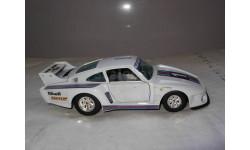модель 1/25 Porsche 935 TT №1 Martini Burago Italy металл 1:25 Rallye