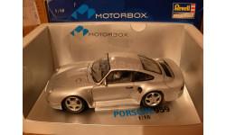 модель 1/18 Porsche 959 EXOTO/Revell Motorbox металл, масштабная модель, 1:18