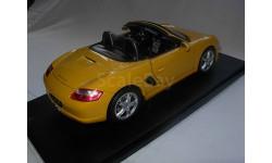 модель 1/18 Porsche Boxster S 2-й серийный вариант 1:18 Welly  металл, масштабная модель