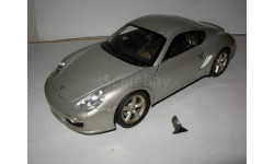 модель 1/18 Porsche Cayman S Welly металл 1:18