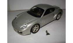 модель 1/18 Porsche Cayman S Welly металл 1:18, масштабная модель, scale18