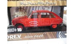 модель 1/18 Renault 16 пожарный 'Pont du Chateau' Norev металл