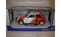 модель 1/18 Renault 5 RS Turbo Marlboro Rallye du Var 1982 #5 Alain Prost - Jean-Marc Andrié Solido металл 1:18, масштабная модель, scale18